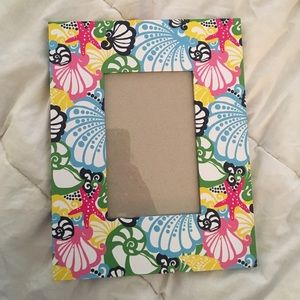 lilly pulitzer 4x6 picture frame