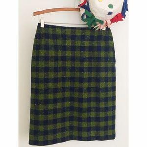 ⛄️Vintage Pendleton Plaid Wool Skirt
