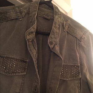 Lucky brand army jacket/shirt!