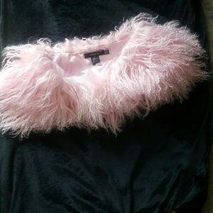 Accessories - Furry angora wrap/shawl