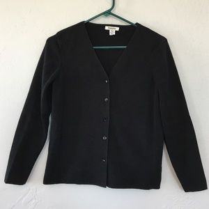 Little Black Sweater size M petite