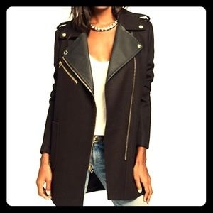 Moto Wool Coat by Juicy Couture