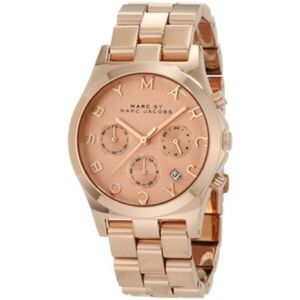 Like new Marc by Marc Jacobs Henry Rose Gold Watch
