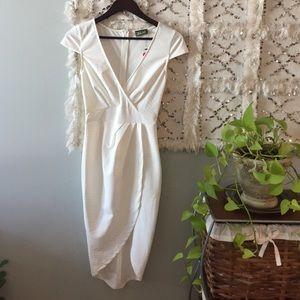 NWT Maude cream dress