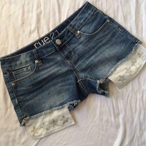Rue 21 Pants - Rue 21 sz 1/2 shorts!