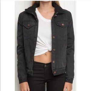 Brandy Melville Annalee Fur Jacket