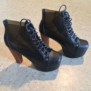 Jeffrey Campbell Shoes - SALE!! Jeffrey Campbell LITA (Transparent)