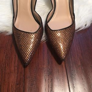J. Crew Shoes - | J. Crew | Pointed Toe Sparkly Holiday Heels
