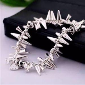 pearl street Jewelry - LAST ONE 🎀spike bracelet silver spike bracelet