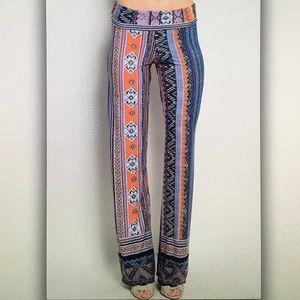 Pants - ⚱Tribal geo⚱semi sheer lounge pants