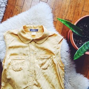 Tommy Bahama Tops - Yellow Silk Blouse