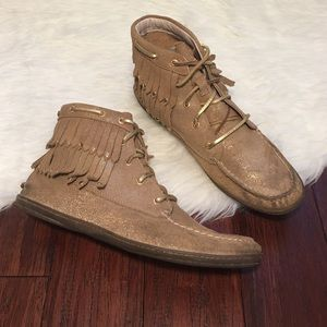 Sperry Top-Sider Shoes - | Sperry | Suede Brookhaven Moccasin Booties