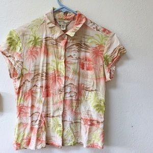 Vintage Tops - Vintage Hawaii Shirt