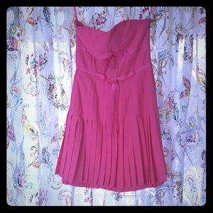 Marc Jacobs pink silk dress Sz 4