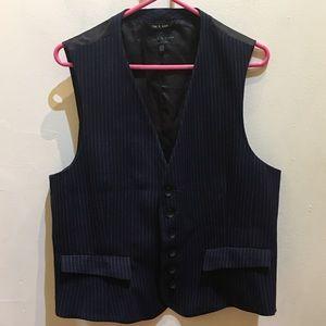 rag & bone Other - Men's Rag & Bone Navy and Pinstripe Vest 42