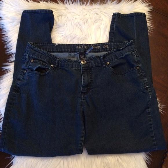 Apt 9 modern fit skinny leg jeans