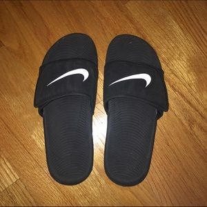 61f1e5cc1fc5 Nike Shoes - Nike Kawa Adjustable Slides