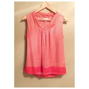 🌼4 for $10 deal- Salmon Pink Sleeveless Blouse