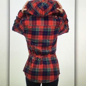 Jackets & Coats - ⛺️Red/blue⛺️plaid fleece lined jacket