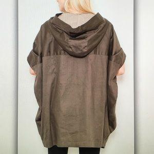 Jackets & Coats - 🏺Brown dolman🏺sleeve rain jacket