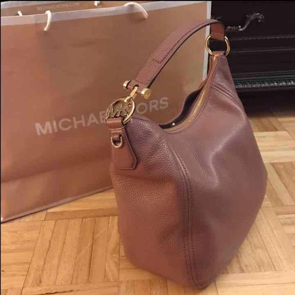 6381df795522 Fulton Dusty Rose Michael Kors handbag