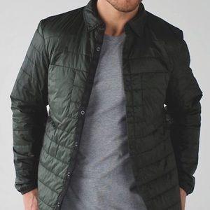Lululemon Ukee dark green performance jacket Nwot