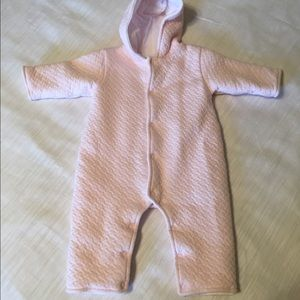 Kissy Kissy Other - 👭 [Kissy Kissy] quilted one piece with hood