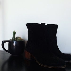 Free People Shoes - Black Suede Boots