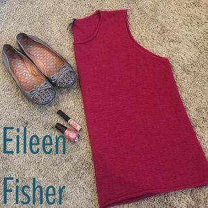 Eileen Fisher Tops - Eileen Fisher maroon Italian Yarn tank top
