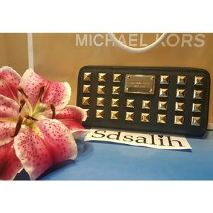 Michael Kors Handbags - Authentic 💎RARE💎 Michael Kors Stud Wallet