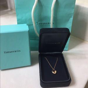 Tiffany & Co. Jewelry - Tiffany & Co. 18k Rose Gold Heart Locket