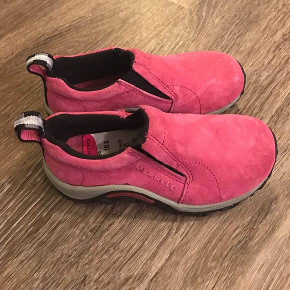 523735a511 Merrell Toddler Girl Pink Slip on Shoes 10 M NEW