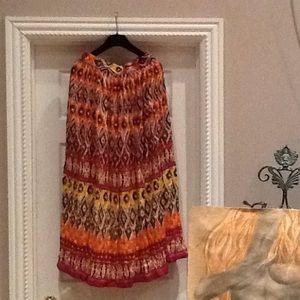 Dresses & Skirts - 🎉HP🎉Boho Long Skirt