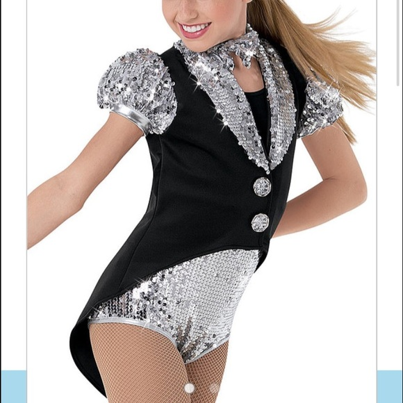Suit and tie dance costume