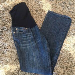 Liz Lange size 4 maternity jeans
