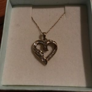 Jewelry - Gold Plated Heart Necklace