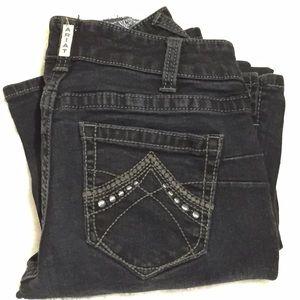 Ariat Denim - ARIAT Real Denim Black Jeans Size 30 Short