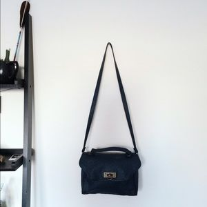 Element Handbags - Element Ostrich Shoulder Bag