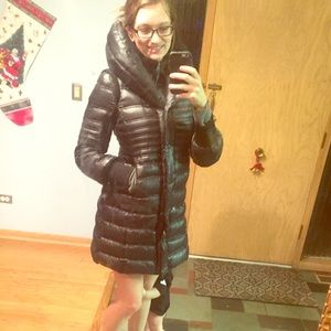Mackage goose down long high neck winter coat warm