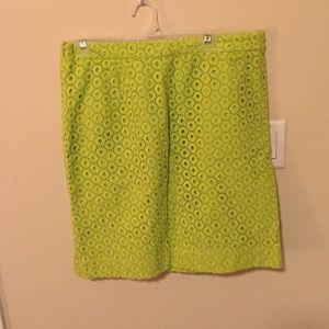 Size 12 J. Crew pencil skirt.