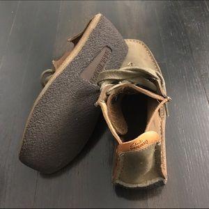 3ea5df3a Clarks Originals leather high top moccasins