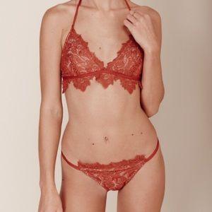For love and lemons Valencia Lace bikini bottoms