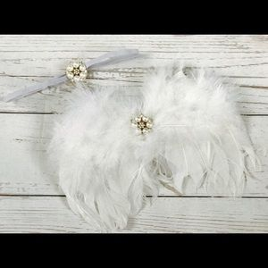 Other - Feather wing set ,new born photo prop