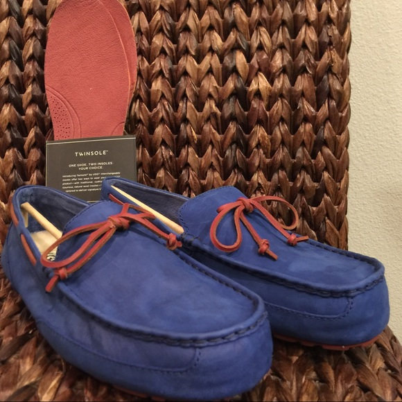 5e33d3b9392 UGG Men's Leather Chester Moccasin Shoes NWT