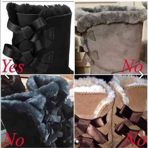 off brand uggs with bows