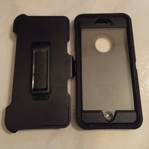 iPhone case 6plus black