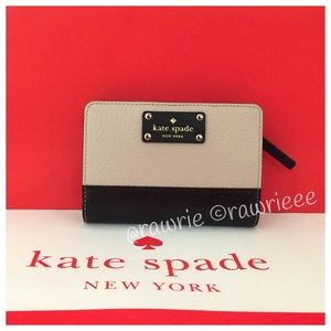 kate spade Handbags - New Kate Spade colorblock Bifold wallet