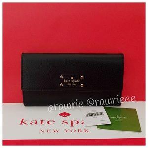 kate spade Handbags - New Kate Spade envelope flap continental clutch