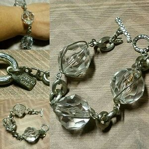 Kenneth Jay Lane Jewelry - VINTAGE 80s Kenneth Lane Signed Bracelet