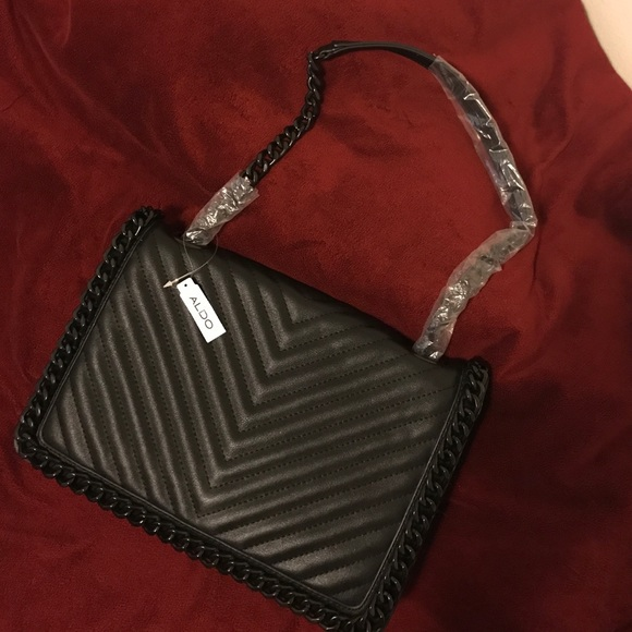 8cf354be657 Black ALDO Greenwald purse